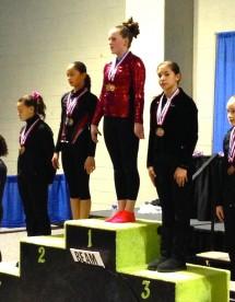 MAGGIE HURLEY - Level 7 Beam State Champion