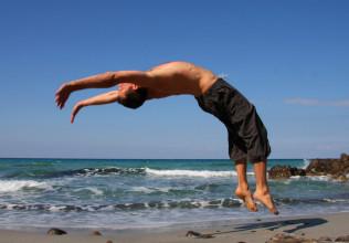 back flip