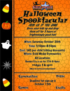 2018 Spooktacular Flyer ALL