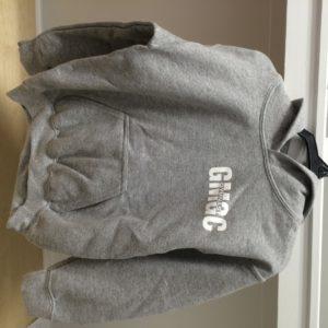 GMGC Hoodie Grey Front
