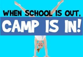 Schools out camp copy