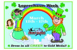 Leprechaun Week single flyer
