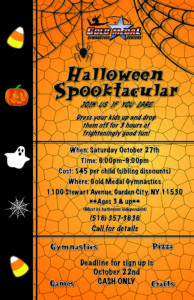 2018 Spooktacular Flyer GC small