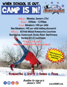 2019 School's Out Camp (MLK) ALL