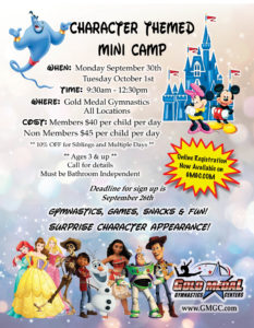 ALL Disney Special Event Flyer