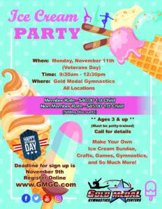 2019 Veterans Day Ice Cream Party ALL
